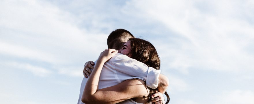 How can hugging improve your health?